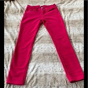 New York & Co. stretchy mini-corduroy skinny jeans